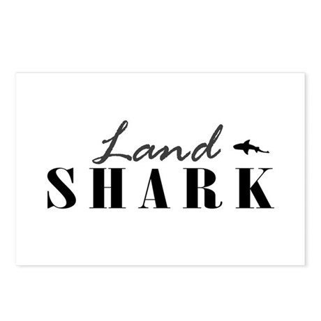 Land Shark Postcards (Package of 8)