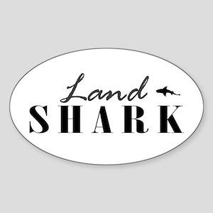 Land Shark Oval Sticker
