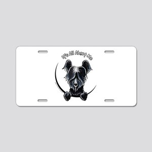 Skye Terrier IAAM Aluminum License Plate