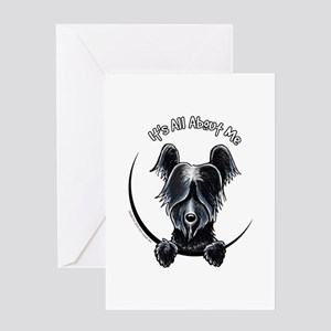 Skye Terrier IAAM Greeting Card