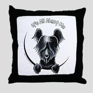 Skye Terrier IAAM Throw Pillow