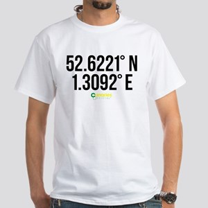Norwich Canaries Coordinates White T-Shirt