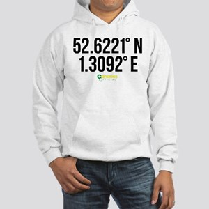 Norwich Canaries Coordinates Hooded Sweatshirt