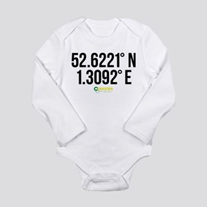 Norwich Canaries Coord Long Sleeve Infant Bodysuit
