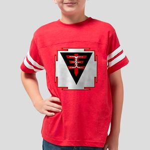 yantra_black Youth Football Shirt