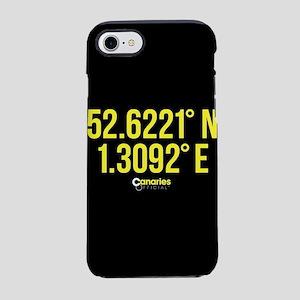 Norwich Canaries Coordinates iPhone 7 Tough Case
