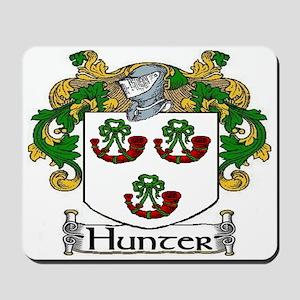 Hunter Coat of Arms Mousepad