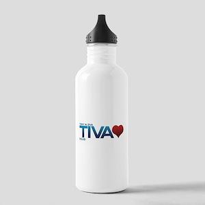Tony & Ziva - Tiva Heart Stainless Water Bottle 1.
