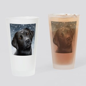 Dog 100 Drinking Glass