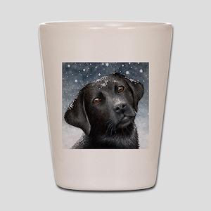 Dog 100 Shot Glass