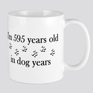 85 birthday dog years 4-2 Mug