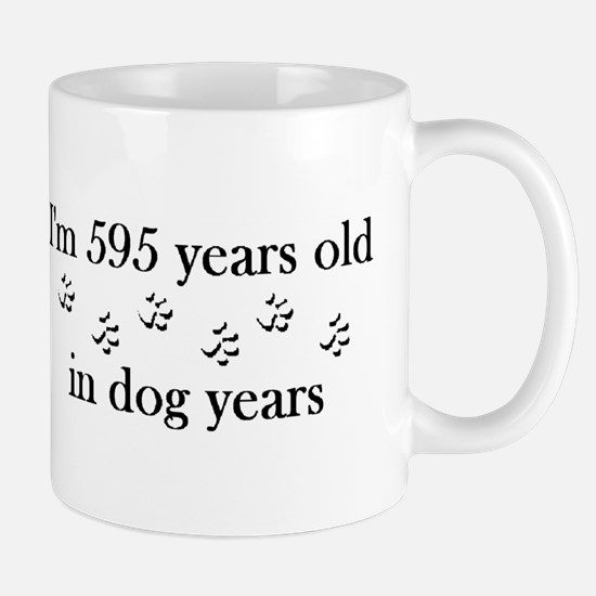 85 birthday dog years 4-2 Mug
