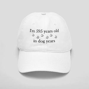 85 birthday dog years 4-2 Baseball Cap
