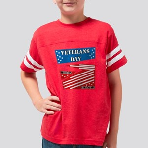 FLAG DESIGNS Youth Football Shirt