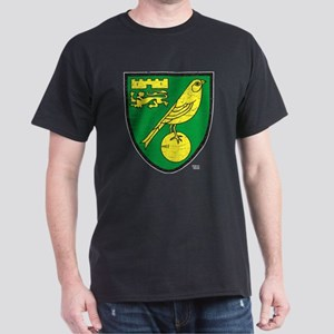 Norwich Canaries Crest Dark T-Shirt