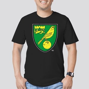 Norwich Canaries Crest Men's Fitted T-Shirt (dark)