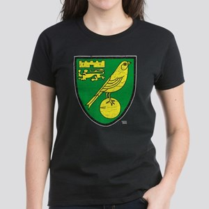 Norwich Canaries Crest Women's Dark T-Shirt