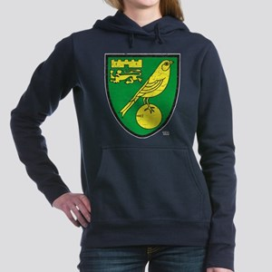 Norwich Canaries Crest Women's Hooded Sweatshirt