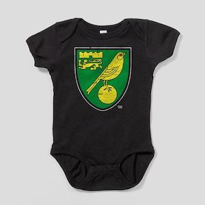 Norwich Canaries Crest Baby Bodysuit