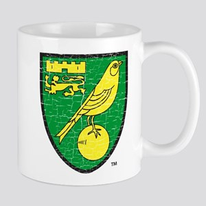 Norwich Canaries Crest 11 oz Ceramic Mug