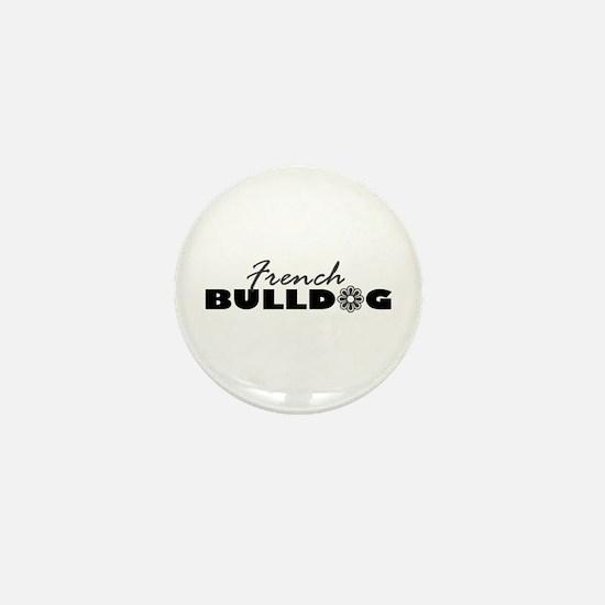French Bulldog FLR Mini Button