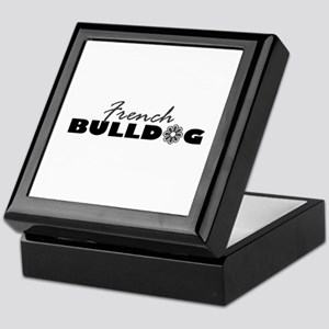 French Bulldog FLR Keepsake Box