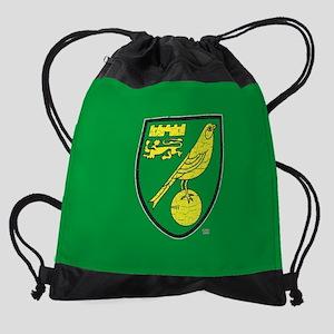 Norwich Canaries Crest Drawstring Bag