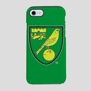 Norwich Canaries Crest iPhone 7 Tough Case