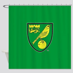 Norwich Canaries Crest Shower Curtain