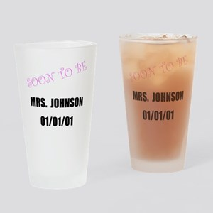 Soon To Be Personalize It! Drinking Glass