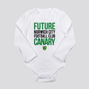 Future Canary Long Sleeve Infant Bodysuit