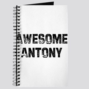 Awesome Antony Journal