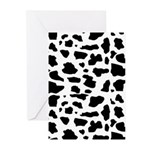 Cow pattern Greeting Cards (Pk of 20)