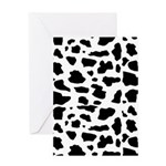 Cow pattern Greeting Card
