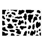 Cow pattern Postcards (Package of 8)