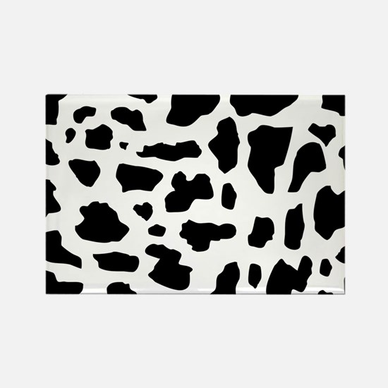 Cow pattern Rectangle Magnet