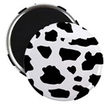 Cow pattern Magnet