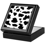 Cow pattern Keepsake Box