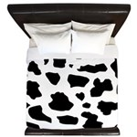 Cow pattern King Duvet