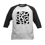 Cow pattern Baseball Jersey