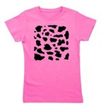 Cow pattern Girl's Tee