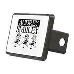 Audrey Smilley logo Hitch Cover