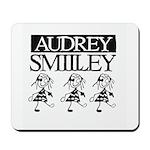 Audrey Smilley logo Mousepad
