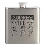 Audrey Smilley logo Flask