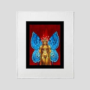 Butterfly Fairy Queen Throw Blanket