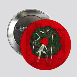 Santa's Little Helper Button