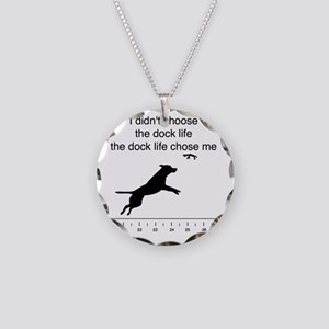 Dock life  Necklace Circle Charm