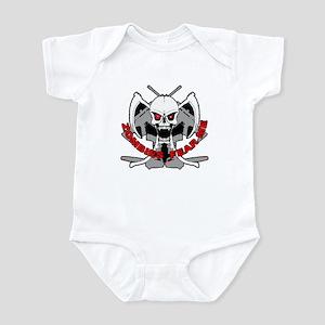 Zombies fear me Infant Bodysuit