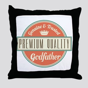 Vintage Godfather Throw Pillow