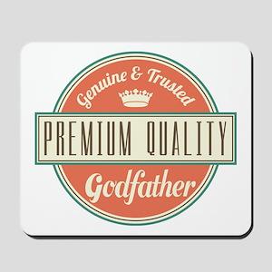 Vintage Godfather Mousepad